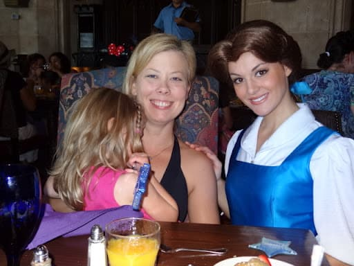 Disney World Cinderella's Royal Table = The Fearful Princess Encounter