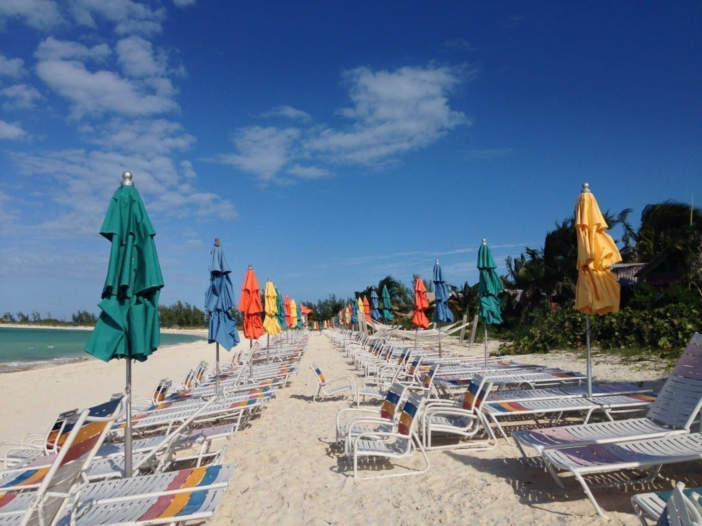 Disney Cruise adults only beach