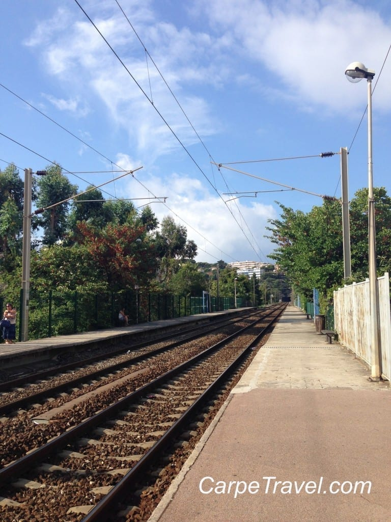 Getting to Menton