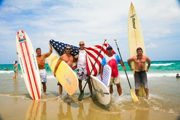 4th of July Surfer Memorial in Delray Beach, FL