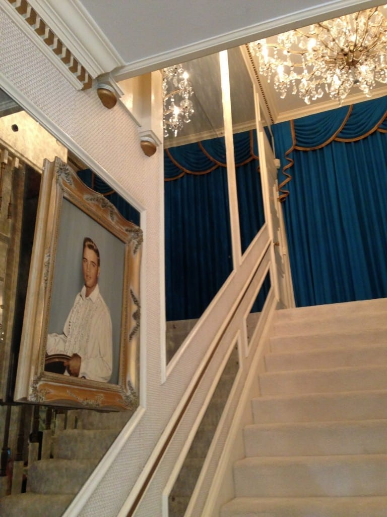 Graceland staircase