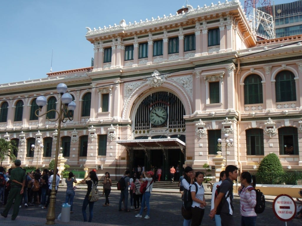 things to do in Saigon The Old Post Office