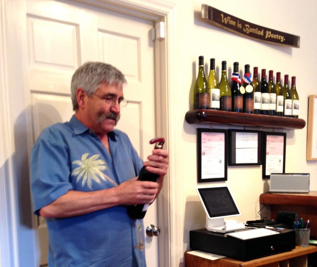 Jeffery Blair of Blair Vineyard in Monterey