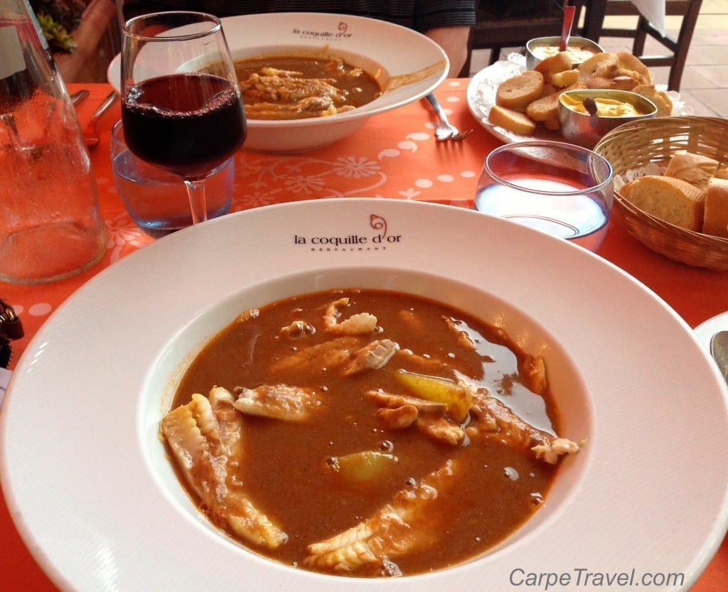 Restaurants in Menton