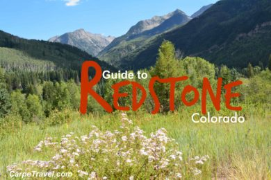 guide to redstone colorado