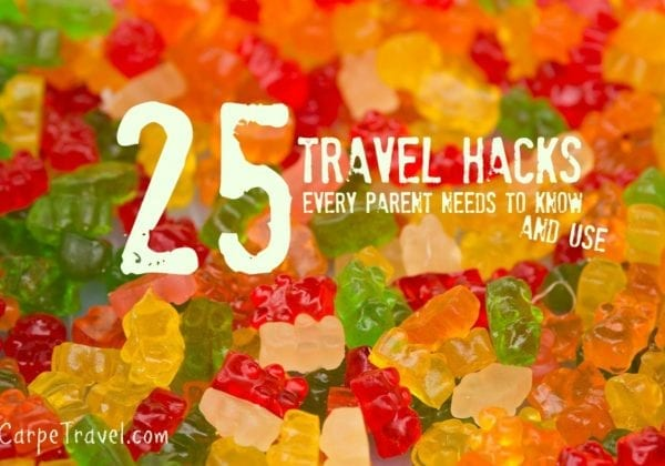 25 travel hacks every parents should know and use