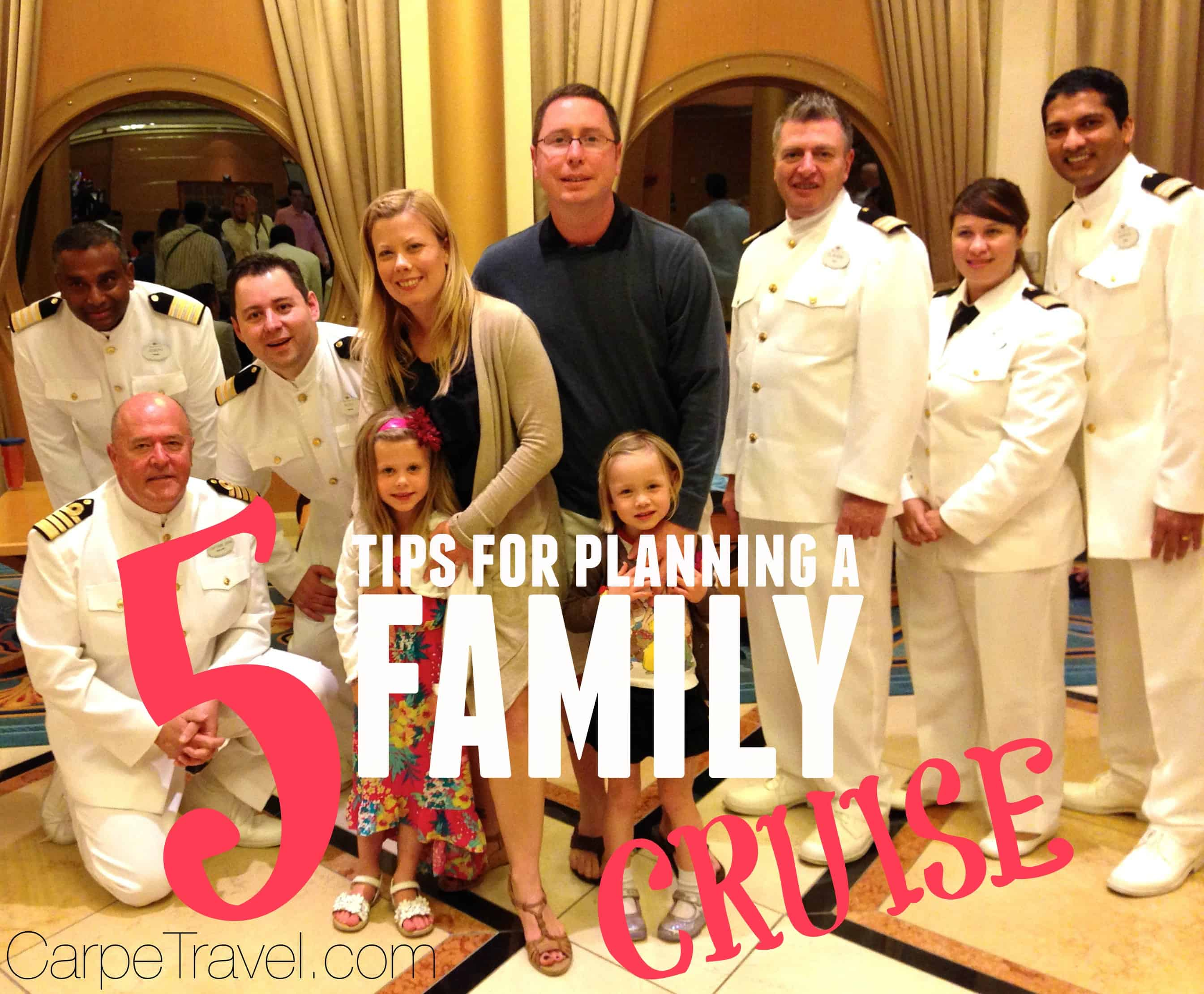 five tips for preparing for a cruise with the family