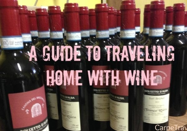 A complete guide regarding how to ship wine back to the United States from overseas.