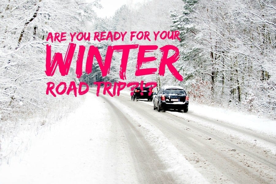 are you ready for your winter road trip? click through for tips for get you there - safely