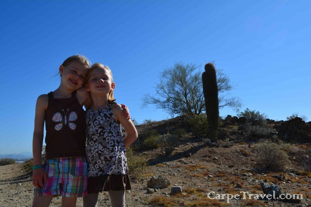 Fun things to do in Phoenix - hiking with kids in Phoenix