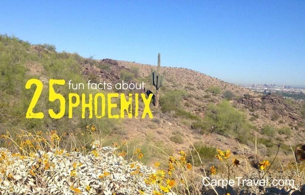 25 Fun Facts about Phoenix