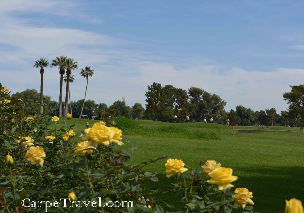 The Wigwam Resort has THREE golf courses on property. It's the only golf club in Arizona to offer 54 holes of championship golf including two courses designed by the legendary Robert Trent Jones, Sr. Click through for the full review.