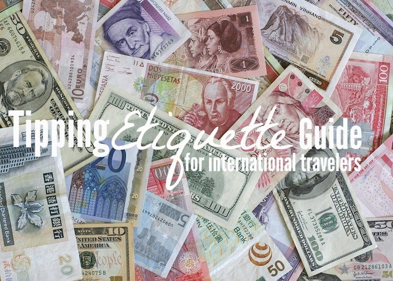 Traveling internationally? Read the Tipping Etiquette Guide to avoid ackward tipping situations.