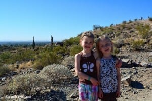 Arizona Grand Resort and Spa hiking with kids