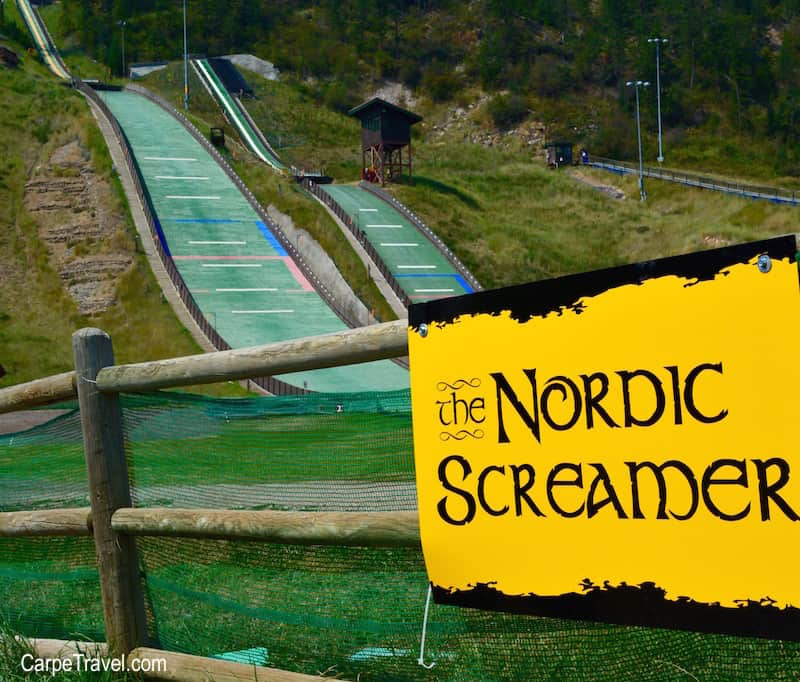 Things to do in Steamboat Springs with Kids - ride The Nordic Screamer. Click through for more summer and winter activities in Steamboat Springs.
