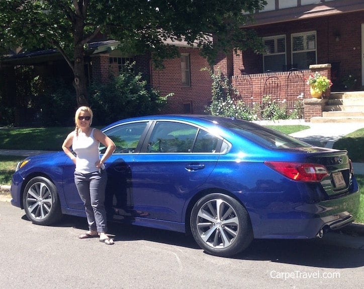 Road Trip! Test driving the Subaru Legacy