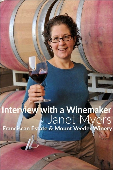 Interview with a Winemaker Series via Carpe Travel: Franciscan Winemaker Janet Myers2
