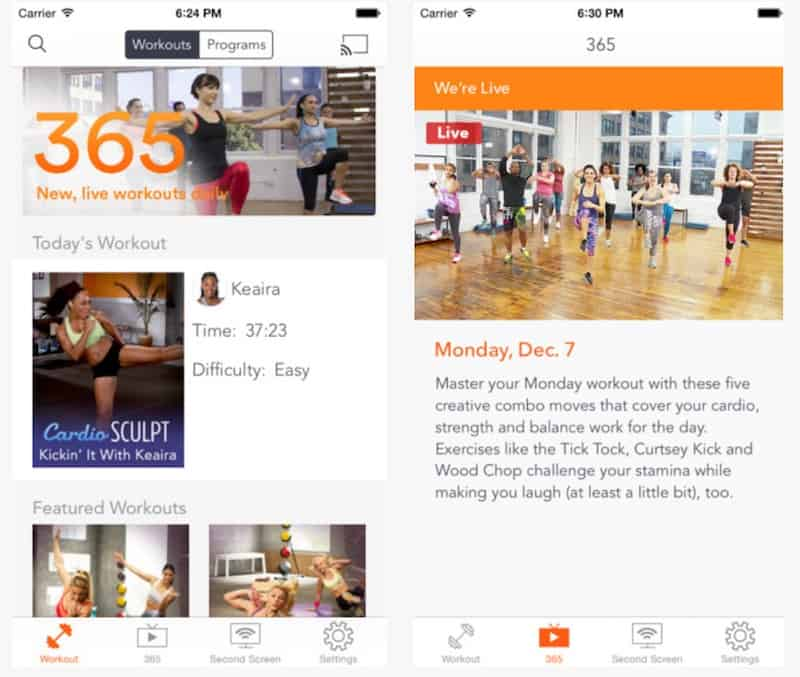 Top Fitness Apps: DailyBurn