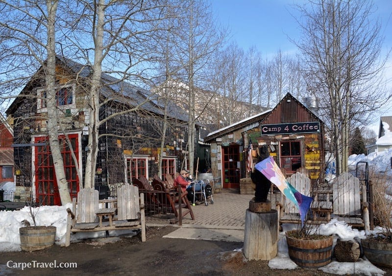 Things to do in Crested Butte Colorado Besides Skiing: Start the day with a visit to Camp 4 Coffee, or get an afternoon pick-me-up. Click over for other ideas on things to do in Crested Butte.