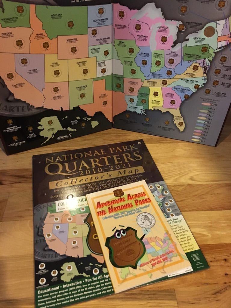 America the Beatiful Quarter Books