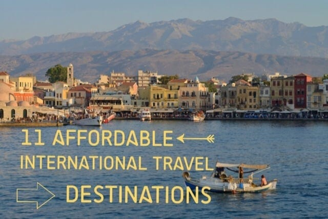 Most Affordable International Travel Destinations Summer Of