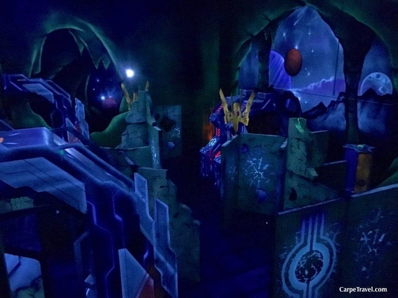 Fashioned after the ever-popular League of Legends battle arena, G-Force at GameWorks in Denver is the largest, split-level laser tag arena in the Front Range. Stocked with 24 phasers, the 5,500 square-foot arena offers teams more than 25 different game options packed into 15-minute battle sessions. Click over to read the full review of Gameworks in Denver from Carpe Travel's editor (and her kids).