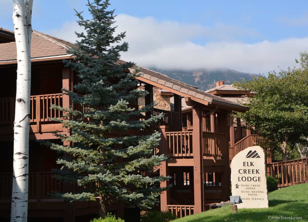 "The rooms at Cheyenne Mountain Resort are housed in one of the eight, multi-story residential lodges. The lodges are fairly spread out, which gave me that sense of ""mountain seclusion"" when we were enjoying a glass of wine on our balcony in the evenings. Click over for a full review of Cheyenne Mountain Resort in Colorado Springs."