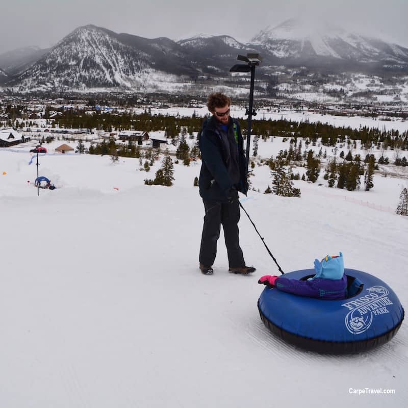34e460ad50635 Things to do in Breckenridge...besides skiing. GO TUBBING!