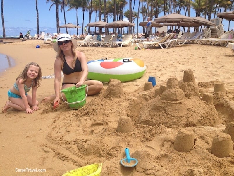 Things to do with kids in San Juan - hit the beach! El Escambron and Isla Verde Public Beach are two great beachs for kids. Click over for more ideas on things to do with kids in San Juan, Puerto Rico.