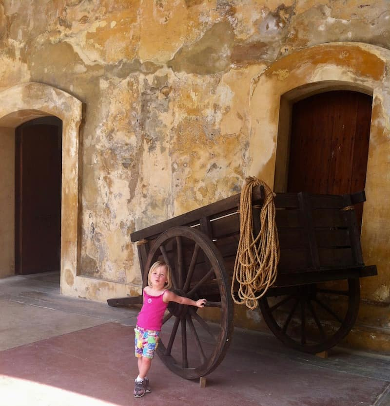 Things to do with kids in San Juan - visit San Cristobal or El Morro. For more ideas on things to do with kids in San Jaun, click over.