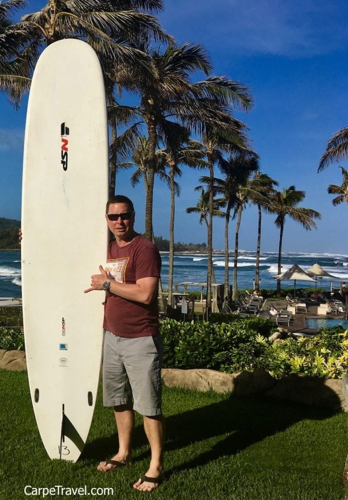 North Shore is famous for its surfing. If you're interested in renting a board or taking a lesson Turtle Bay Resort offers both onsite through the Hans Surf Shop. Click over for a full review of Turtle Bay Resort.