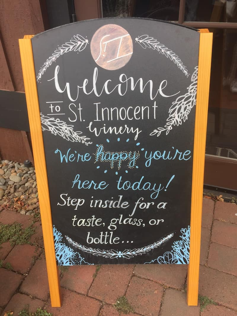 St. Innocent Winery: This four day itinerary will keep you focused and will provide some of the top tasting experiences at wineries in Willamette Valley - Oregon's wine country.