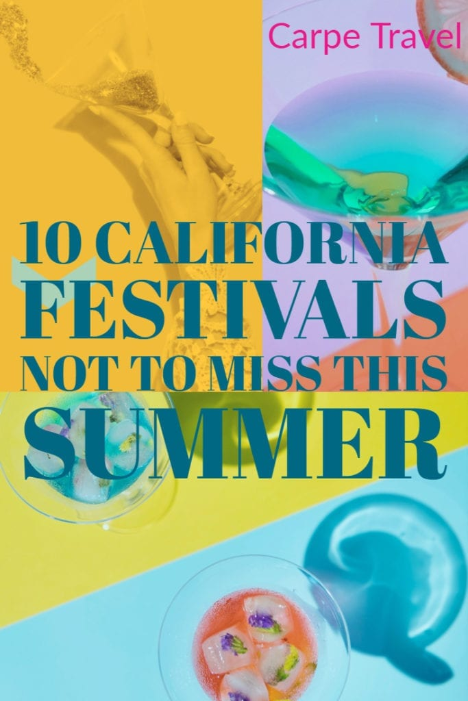 California wine festivals not to miss