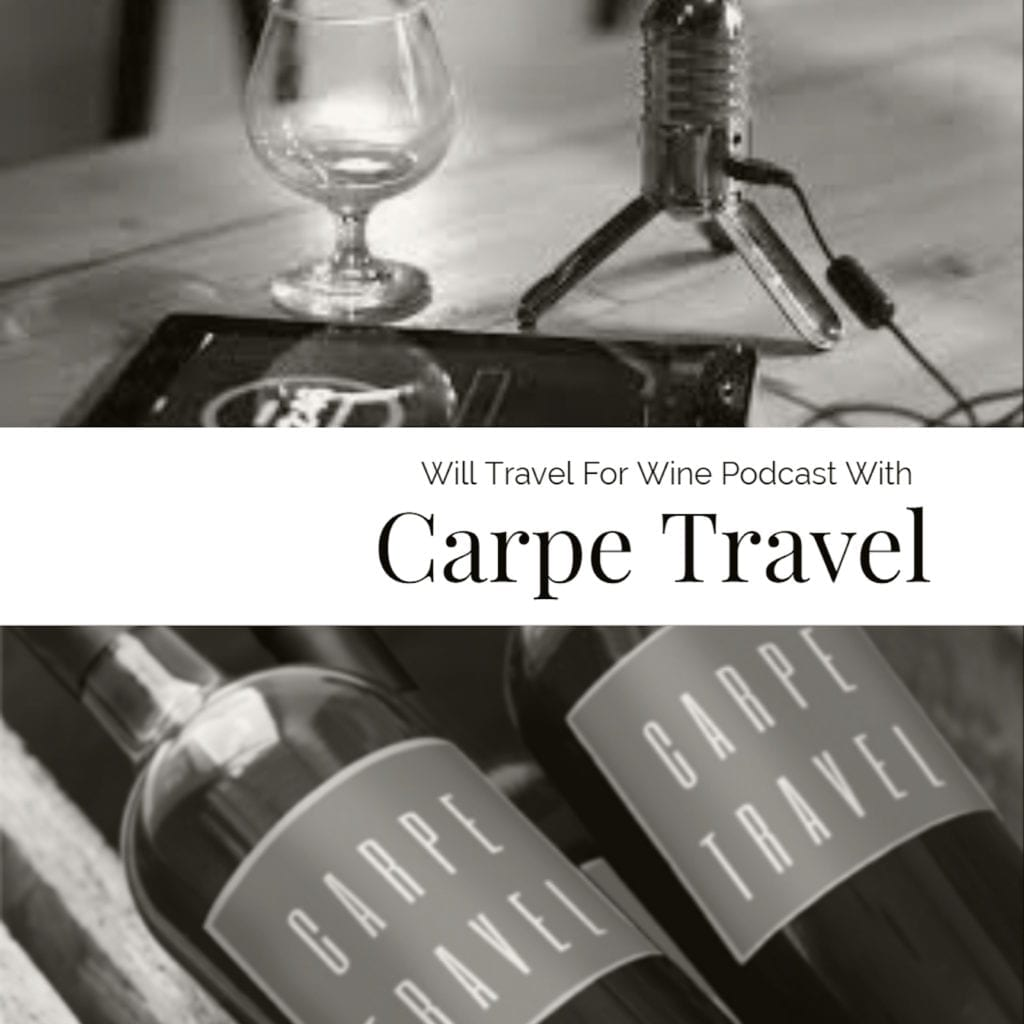 Will Travel For Wine Podcast Poster