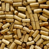 Many, many, many, many wine corks. All names, logos and brands were removed. Full focus mainly in the middle and lower left part of image. Enjoy!