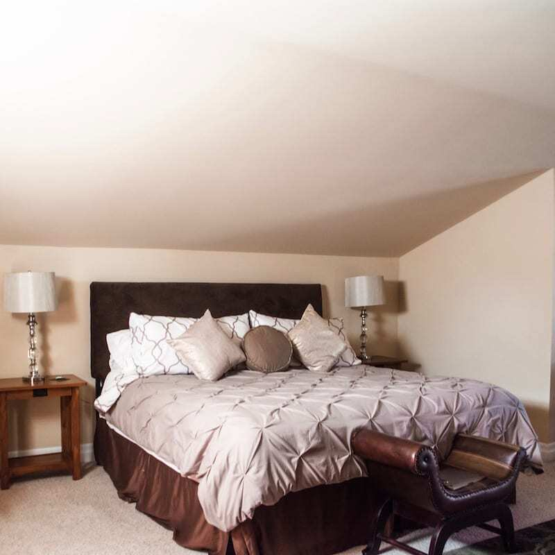 Rooms at Fat Duck Inn - a top Walla Walla Bed and Breakfast - include everything you want and need.