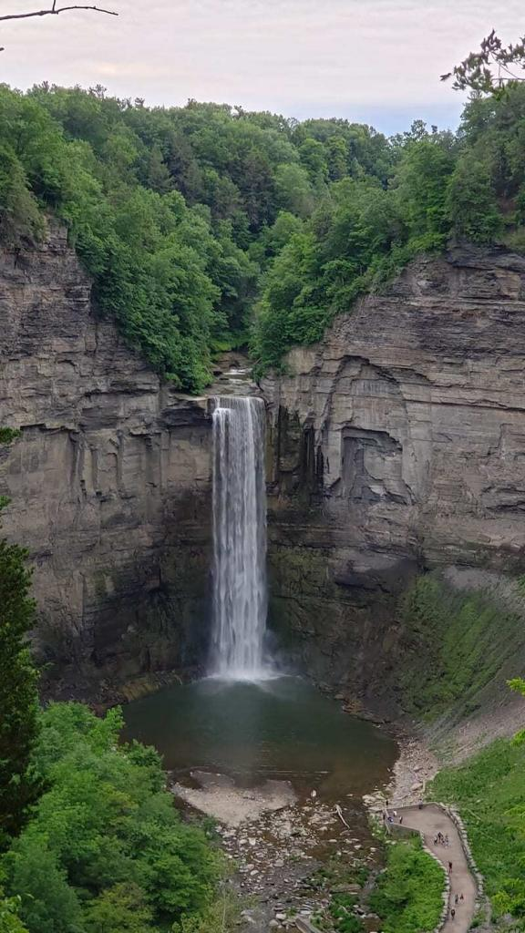 The gigantic Taughannock Waterfall, it's hardly surprising that we put Ithaca at number one on our list of things to do in the Finger Lakes.